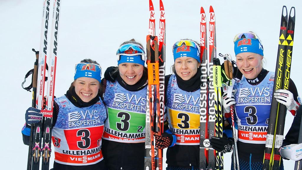 Suomen viestinaiset urheilevat